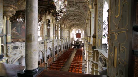 церковь : Zooming shot of beautiful church interior in Copenhagen, Denmark