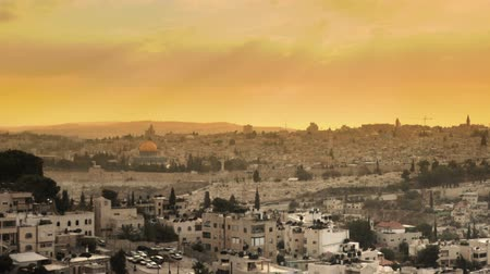 jeruzalém : Sunset time-lapse from the Brigham Young University Jerusalem center. Cropped.