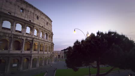 arch of constantine : Footage of the northwest corner of the Colosseums exterior,including the arch of Constantine. Filmed in Rome,Italy on May 6,2012