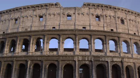 colloseum : Footage of the northwest corner of the Colosseums exterior. Filmed in Rome,Italy on May 6,2012