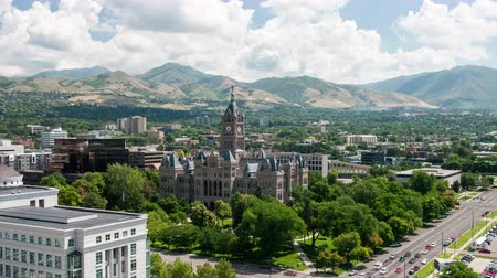 sůl : Timelapse of the Salt Lake City County Building in Utah.