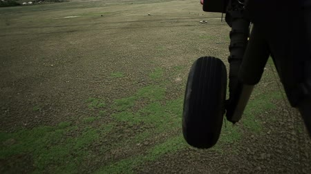 sas : Shot from in Black Hawk helicopter approaching Humvee. Green Beret United States Army Special Forces.