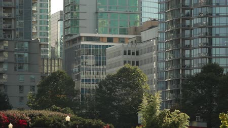 Static shot of down town Vancouver. Stock Footage