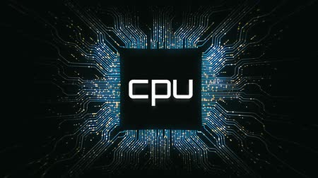 микрочип : A pulsing visualisation of an active cpu.