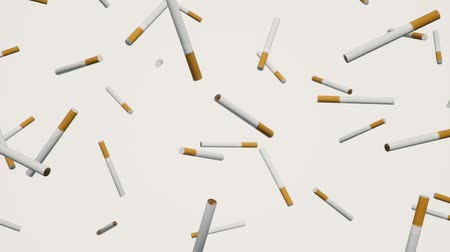 вещество : A looping array of cigarettes against a simple white background.