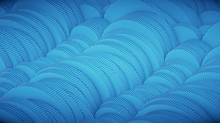 interlock : Looping array of colored Gears with small teeth., Version 1 Stock Footage