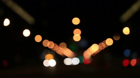 запачканный : Evening traffic. The city lights. Motion blur. Abstract background.