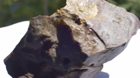 polido : View of Jasper geological rock sample.