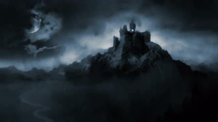 wampir : Scary dark castle.