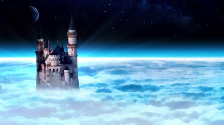 fantasia : Castle tower in the sky.