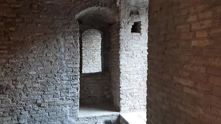 antique grunge : Ancient terrifying jails in italian castle