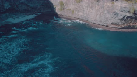 sen : Beautiful Broken Beach in Nusa Penida, Bali, Indonesia Wideo