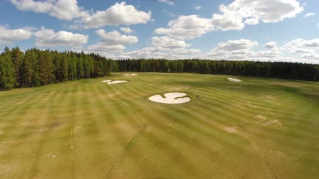 kurs : Aerial view of the Golf course