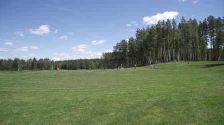 kurs : Views of the Golf course from the cabin