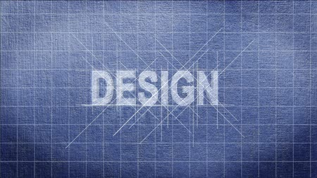 architektonický : Architectural paper with design text appearing in a creative concept sequence
