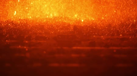 pulverizado : Fire background of coal dust burning in thermal power station