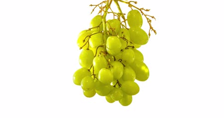 eaten : Grapes are eaten away, stop motion video removed