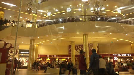 wealth : wealth and sophistication decoration shopping mall GALLERY Stock Footage