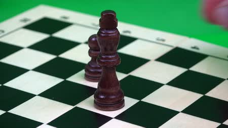 епископ : behind the black queen are pawns in a row.