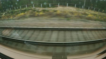 クーペ : High-motion shooting of the movement of high-speed train. 動画素材