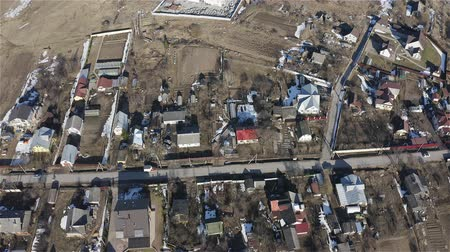 szállás : top View of the village. Aerial survey.