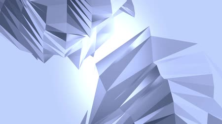 trójkąt : Abstract glass crystalline crystal,hard gemstones silicon debris background. Wideo