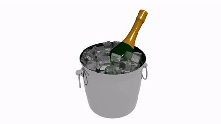 冷蔵する : 3 D の氷 wine.cool,cold,drink,frost,freeze,refreshing