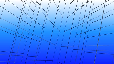 blueprint : abstract grid lines tunnel,virtual tech internet background.