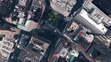 imparatorluk : aerial view of New york,spectacular city landscape.