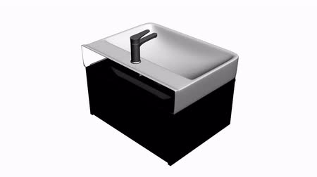 banyo : Luxurious wash basin.bathroom,modern,tap,faucet,clean,water,white,home,luxury,design,apartment,interior,wet,indoor,