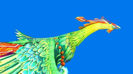 predatory bird : Flying Phoenix.bird,design,art,wing.