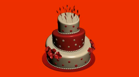 wedding cake : Delicious birthday cake.food,party,celebration,sweet,dessert,happy,candle,anniversary,celebrate,sugar,