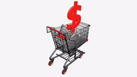 carrello : Carrello con dollar.retail,buy,cart,design,shop,basket,sale,customer,discount,