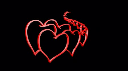 trait : Rotation of heart.love,red,symbol,heart,valentine,romance,illustration,holiday,