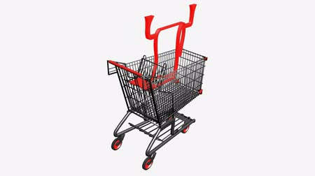 towel folded : Shopping Cart with Towel.retail,buy,cart,shop,basket,sale,supermarket,mall,pushcart,store,