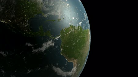 Rotation de earth.planet,world,globe,continent,map,geography,ocean,sphere,blue,global,land,space,sea 3D,