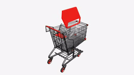 paketleme : Shopping Cart and boxes.retail,buy,cart,design,shop,basket,sale,discount,supermarket,market,