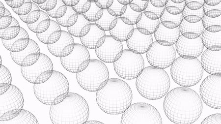 forma tridimensional : Rotation of 3D sphere ball.design,illustration,golf,icon,tennis,football,object,sketch,structure, Vídeos