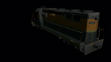 Rotation de Train.locomotive,railroad,train,transportation,travel,passenger 3D,