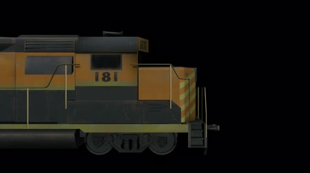 Déplacement de Train.locomotive,railroad,train,transportation,travel,passenger 3D,