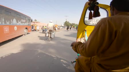 rickshaw : Rickshaw ride on Frid gate Road Bahawalpur Pakistan
