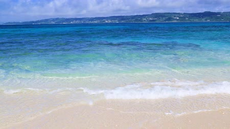okinawa : Summertime at the beach Stock Footage
