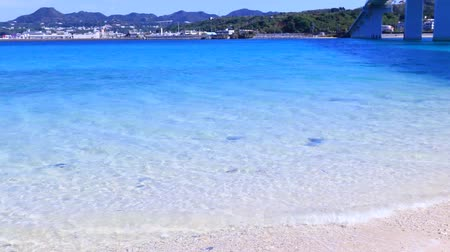 yazlık : The + Cobalt + blue + Sea + and + blue + Sky + of + Okinawa + Japan.