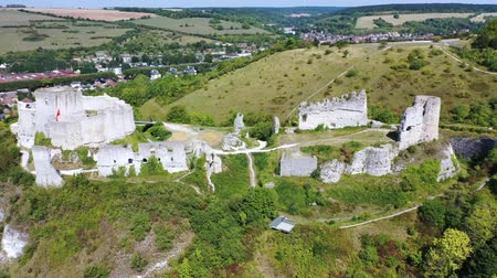 예망 : Chateau Gaillard castle, Les Andelys, Normandy, France