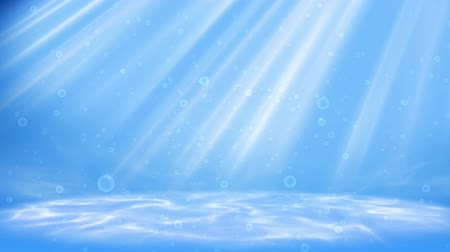 alatt : Under water scene background loop