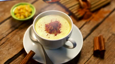 Atole Corn with cinnamon