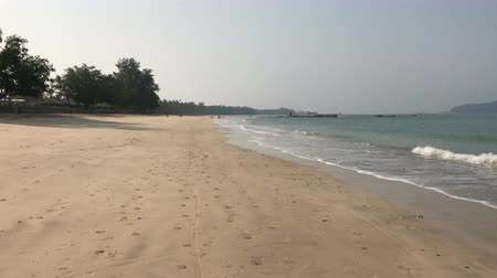 Ozeanstrand in Ngapali, Myanmar
