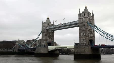 Tower Bridge in London Dostupné videozáznamy