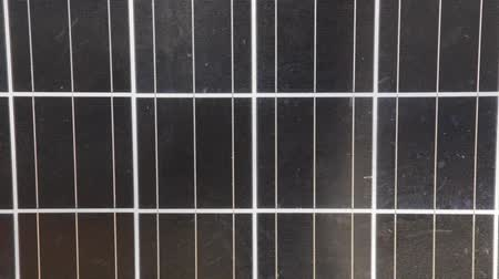 kolektor : Close up of Solar Panel