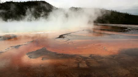 Thermal Hot Pools in Yellowstone